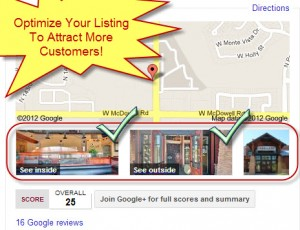 Optimized Google Business Photos Listing