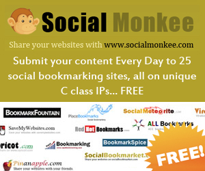 Social Bookmarking for SEO - Social Monkee Free Bookmarking Service
